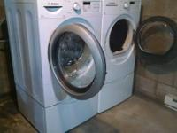 More recent HE washer and dryer still under guarantee.