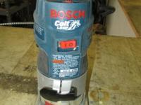 Bosch Colt palm router in great condition. Perfect for