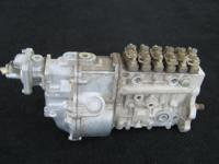 Bosch Diesel Fuel Injection Pump:  Bosch Inline Series