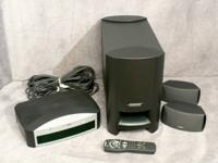 This sale is for a BOSE 3-2-1 (Series I) 2.1 Home