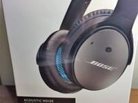 Bose QC 25 Noise Cancelling Headphones. BRAND NEW,