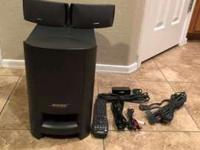 Bose sound system Cinemate Excellent sound reproduction