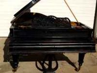 Bosendorfer 8' Grand Piano in excellent condition. in