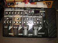 Boss guitar multiple effects cosm model me-70 in great