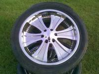 Nice wheels and tires check them out. Call  Location:
