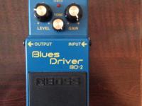 Excellent condition blues driver.