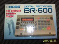 Used Boss BR-600 Digital Recorder / Mixer. All