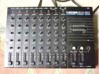 BOSS BX 80 8 CHANNEL MIXER. WORKS GREAT, POT FOR