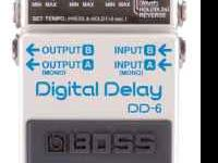 I'm selling my Boss DD-6 Delay Pedal. Great condition