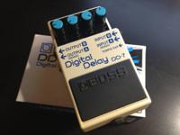 I am selling my Boss DD-7 Digital Delay pedal. It is in