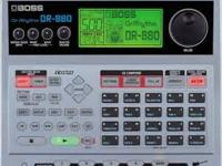 Gently used Boss DDR 880 Drum Machine  is used to
