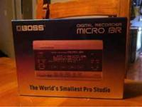 For sale is a boss micro BR digital recorder, worlds