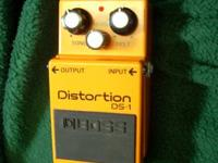 This is a Boss Distortion Pedal DS-1. I've had it for