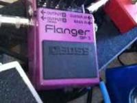 I am selling my Boss BF-3 Flanger pedal. Has been case
