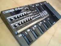 Here I have a boss gt-8 multi effects processor. I am