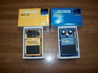 For sale one Boss AC-2 Acoustic Simulator Like New