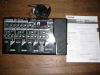 Up for sale I have a BOSS-ME70 effects processor it