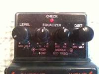 Boss Metal Zone foot pedal. works good and in good