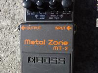 I am selling a Boss MT-2 Metal Zone Pedal. This one is