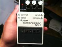 Boss noise suppressor for sale. It's used to stop the