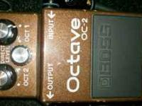 I am selling my Boss OC-2 Octave Pedal. It is in 100%