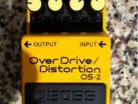 OS-2 Overdrive/Distortion Pedal in excelent condition!