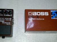 Up for sale is a Boss OC-3 Super Octave pedal. It's a