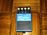 Boss digital pitch shifter delay in great condition
