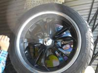 Selling my hardly used Boss rims with fresh Fierce