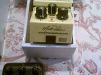 Boss super overdrive that was modified by Monte Allums,