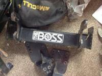 BOSS Snow Plow mount for Chevy 1500 yrs 2007 to 2013