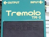 This Tremolo pedal is very thick sounding. Great little