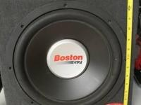 "Boston Acoustics G212SS Sealed 12"" GTuned High"