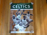 The is a Boston Celtics promotional poster from 2012