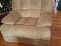 Boston Dual Reclining Sofa and Recliners- -Ultra Plush