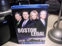 Boston Legal Season 4 Box Set. $8.00 Call or text