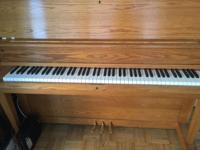 "Boston 46"" Studio Piano designed by Steinway & Sons."