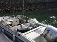 Boston Whaler 130HP Honda 4 Stroke , Stainless Prop,