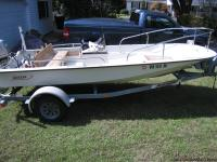 Boston Whaler 15 foot center console. 1983 mostly