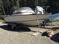 "21' Boston Whaler Model name is ""Yankee Voyager"" it was"