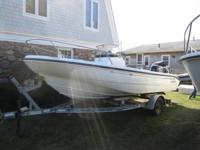 1999 Boston Whaler Dauntless 18 ft center console.135