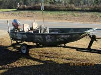 "Boston whaler 13' 4"" side console very trustworthy,"