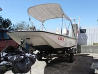 This vintage Whaler is in great condition. Developed in