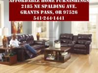 WOW what a deal. This matching reclining couch and