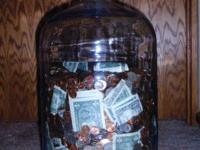 An original Sparklets Water jug, circa 1970. Use for a