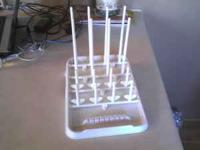Bottle Drying Rack- folds flat for storage. $3 Email or