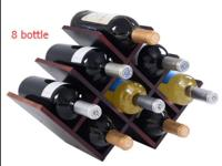 These are our brand new wood wine rack which will make