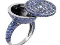 Brilliantly complemented by the stunning black-rhodium