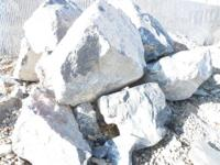 Gray Limestone Boulders 14 tons delivered within Salt