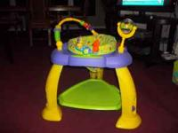 Bounce Bounce Baby activity play center. Lights and